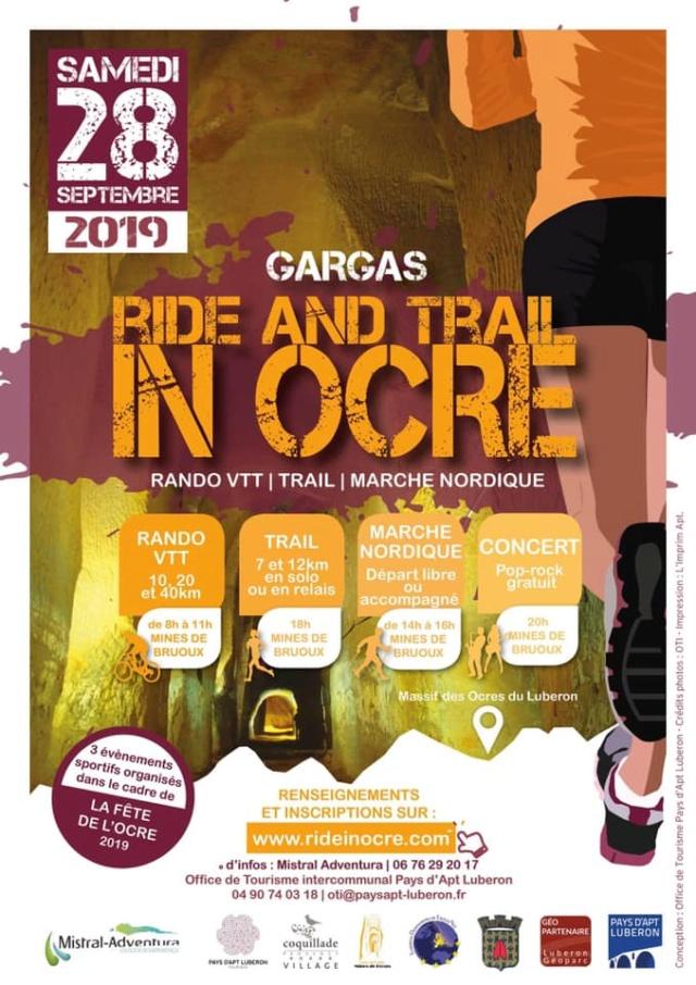 28.09 - Ride in Ocre (4ème édition) à Gargas (84) 69280211