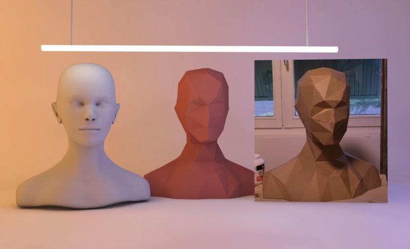 Librairie Sculpting c4d Buste11