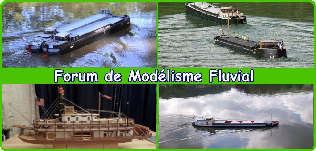 Maquette fluviale
