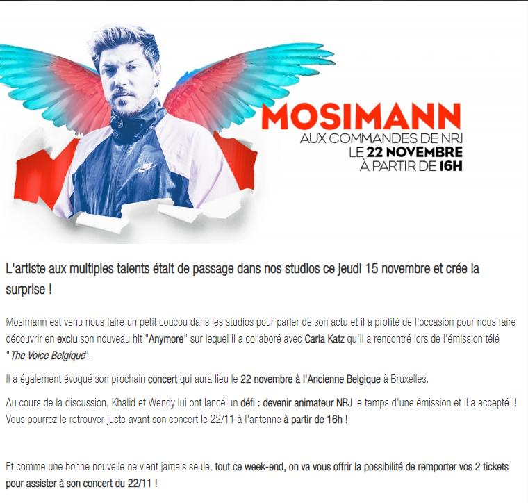 [22/11/2018 - 16h00] NRJ Belgique  Captur15