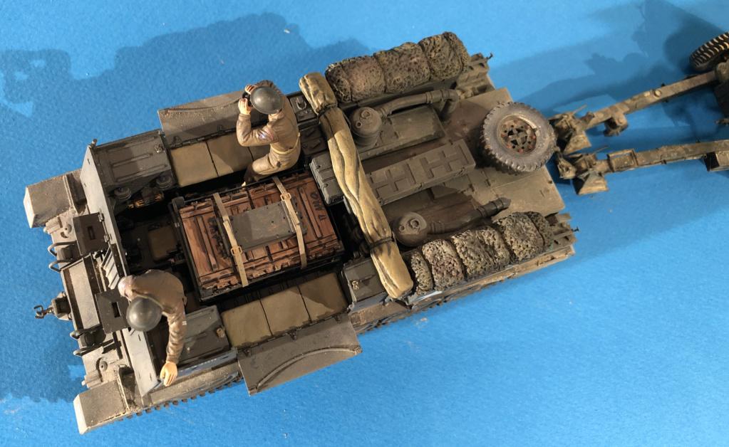 Crusader Gun Tractor et 17 Pdr 1/35 Img_9315