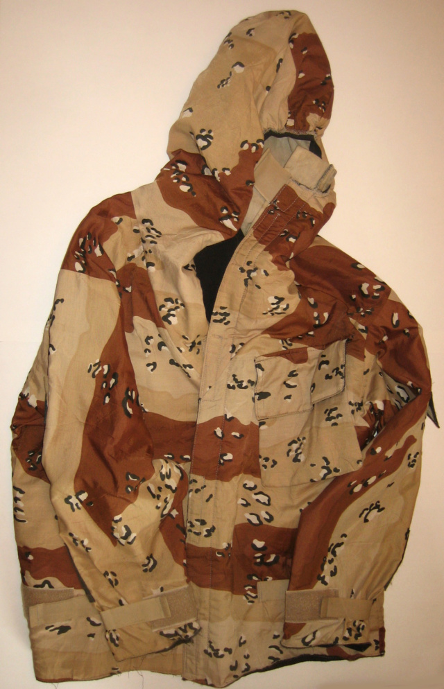 """British made 6 Color Desert Chocolate Chip """"Mk. IV DPM Chemical Protective Smock"""" 8415_911"""