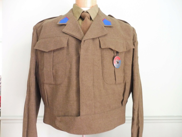 The battledress in use by the Belgian army (1945-1979) Bd_blo10