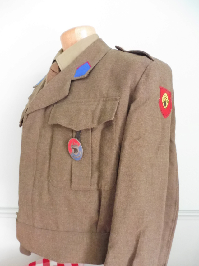 The battledress in use by the Belgian army (1945-1979) Bd_blo11