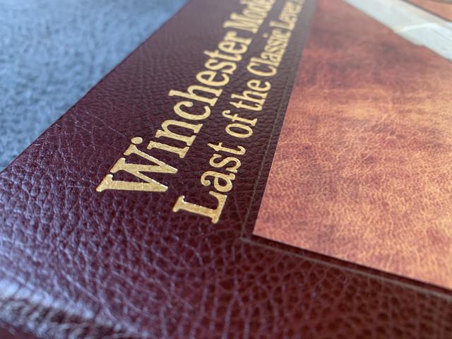 Nouveau livre dédié à la WINchester 1895 (Winchester Model 1895 - Rob Kassab & Brad Dunbar) 20191225