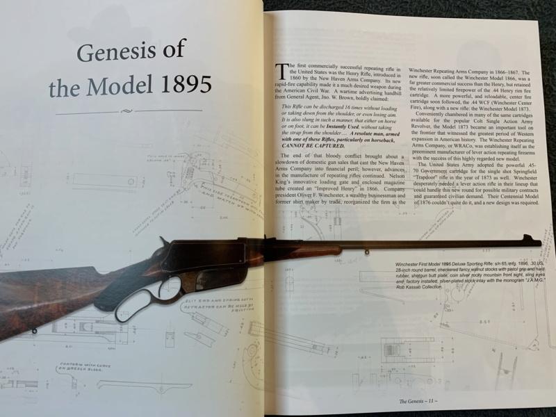 Nouveau livre dédié à la WINchester 1895 (Winchester Model 1895 - Rob Kassab & Brad Dunbar) 20191229