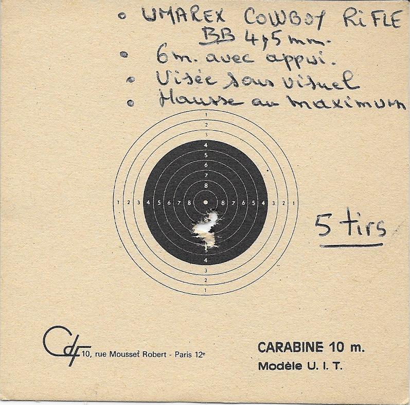 La Cowboy Rifle ou la Winchester 94 revue par Umarex Essai_11