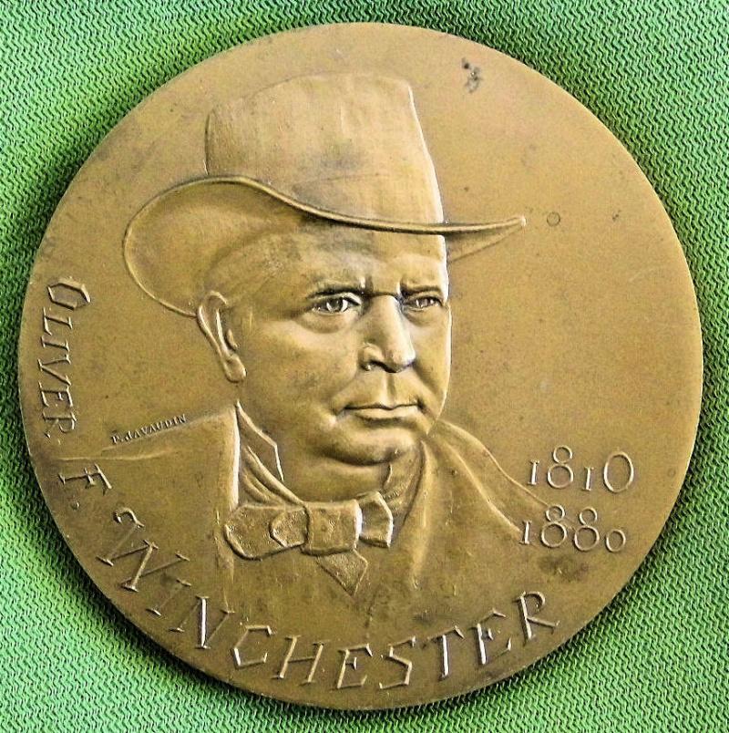 Médaille centennaire de la mort de Oliver Winchester Mzodai12