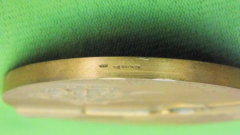 Médaille centennaire de la mort de Oliver Winchester Mzodai13