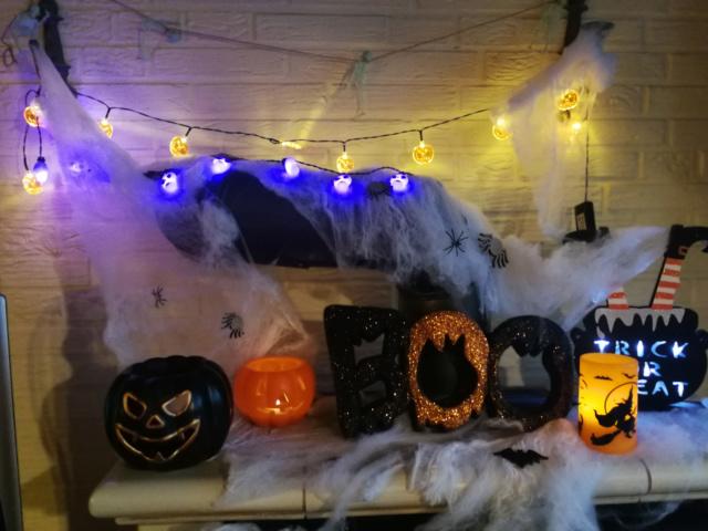 Halloween Deko  Hallow12