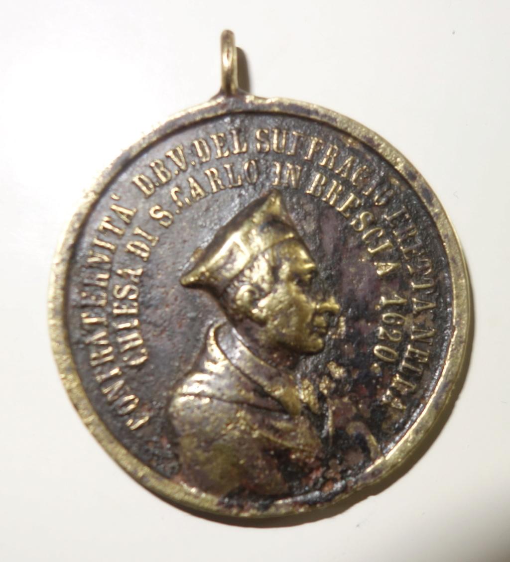 San Carlos Borromeo / Virgen - fecha 1868 Med_211