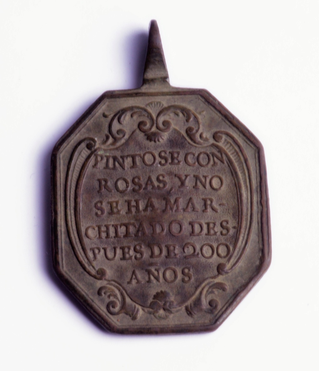 Ntra. Sra. de Guadalupe de Mexico / Inscripción, S. XVIII Phot9347