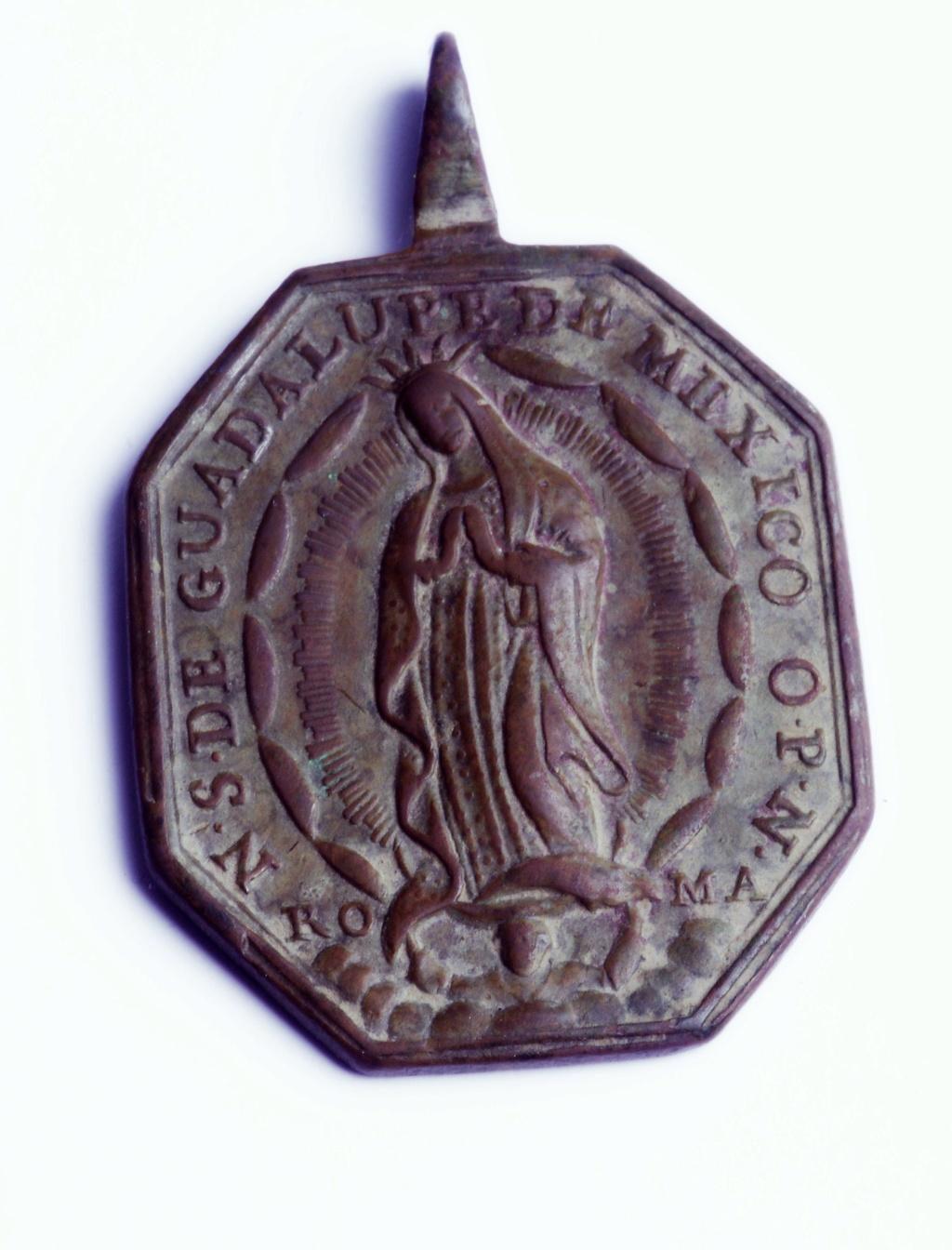 Ntra. Sra. de Guadalupe de Mexico / Inscripción, S. XVIII (R.M. SXVIII-P114) Phot9348
