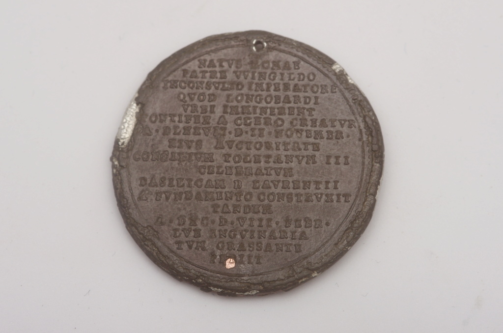 medalla papal pelagius Phot9734