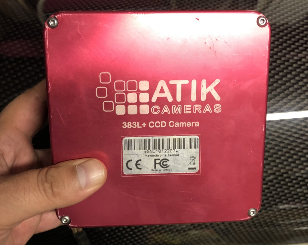 [Vendue] : Camera CCD Atik 383 L+ Monochrome Img_3612