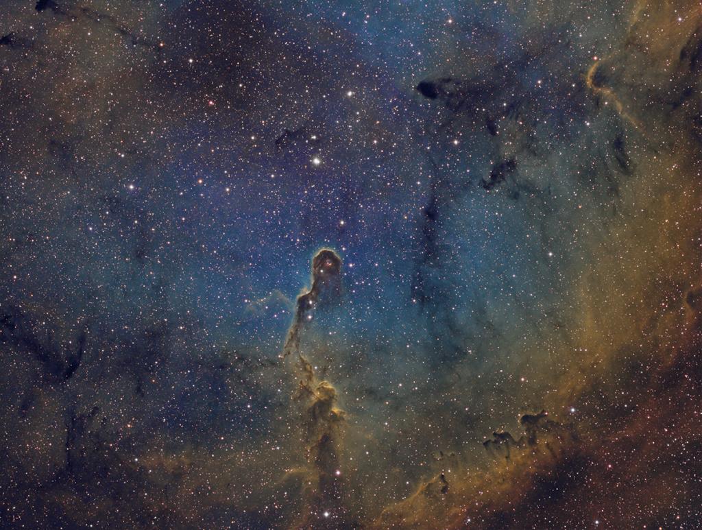 IC1396 et la trompe en SHO remote depuis Sirene Redred10