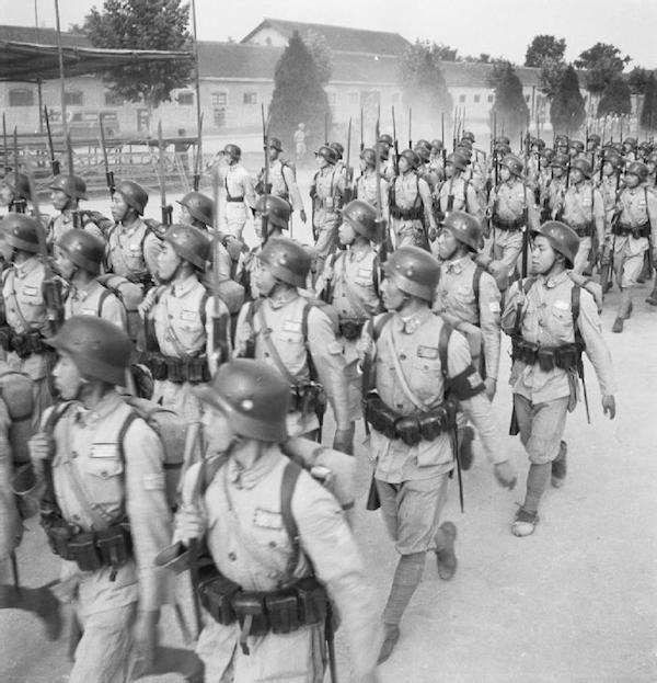 Le fruit de la coopération Sino-Germanique, la 88e Division d'Infanterie (第八十八师) Feb85410