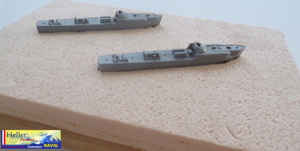 Schnellboot  S 103 & S211 1/400ème Réf 1057 115_4511