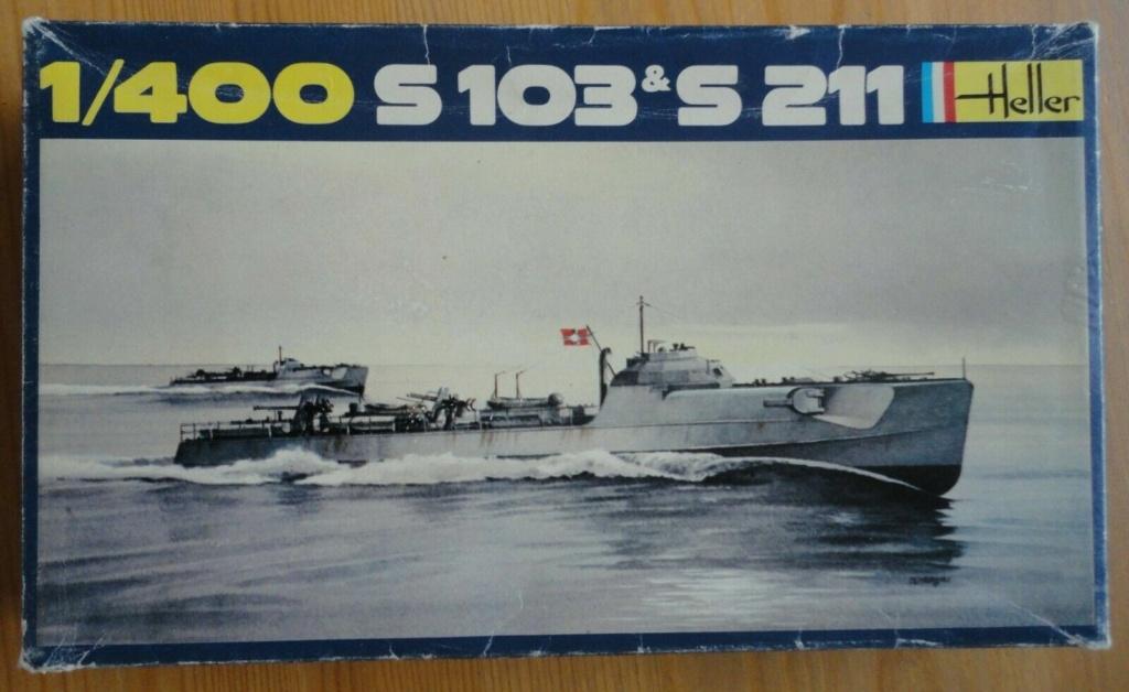 Schnellboot  S 103 & S211 1/400ème Réf 1057 S-l16011
