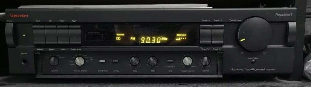 Nakamichi receiver 1 Amplifier Recive10