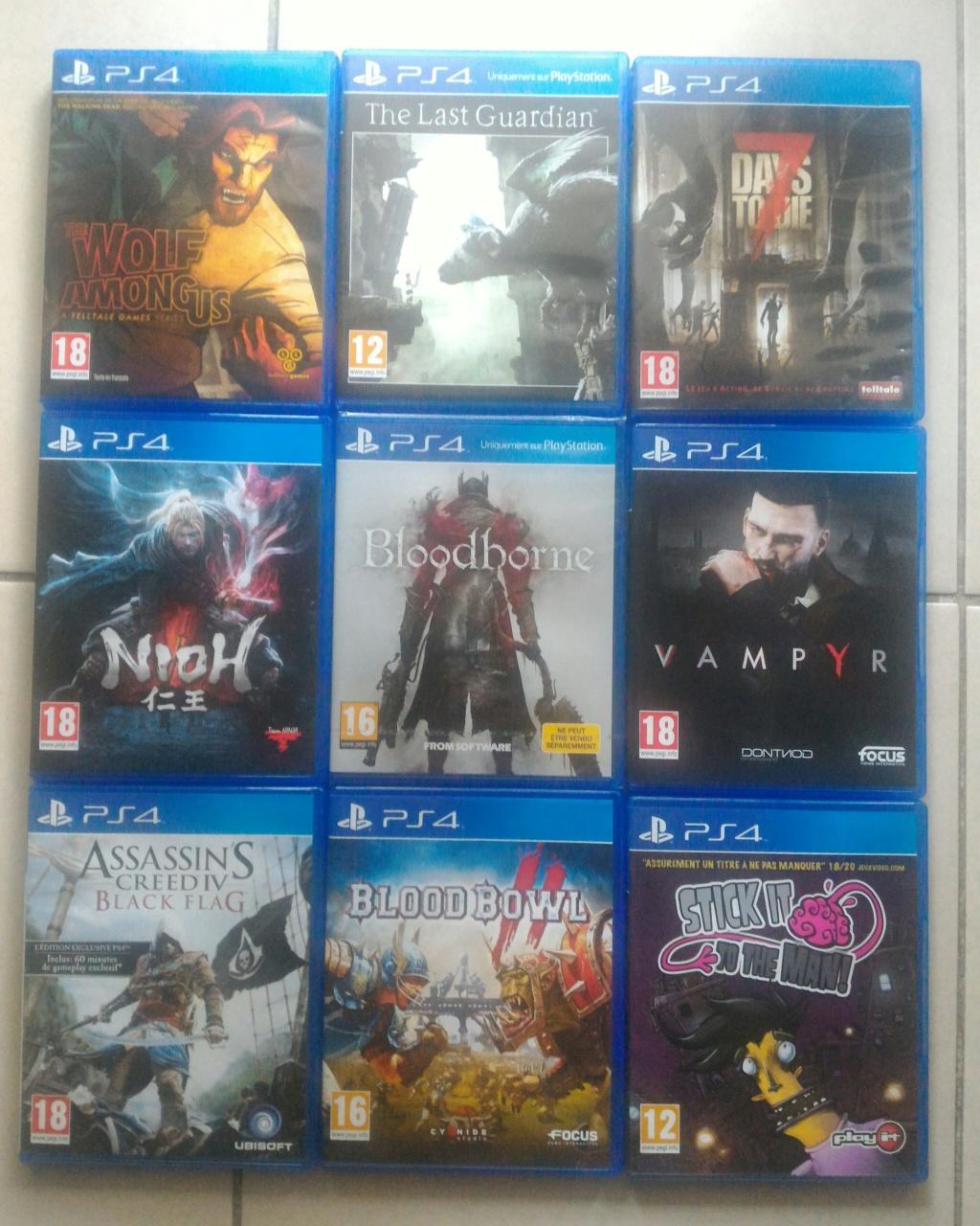 [ECH] Jeux PS4 P_201122