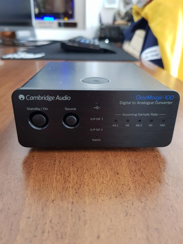 Vendo amplificature per cuffie Little Dot MKIII e dac Cambridge 100 F6915110