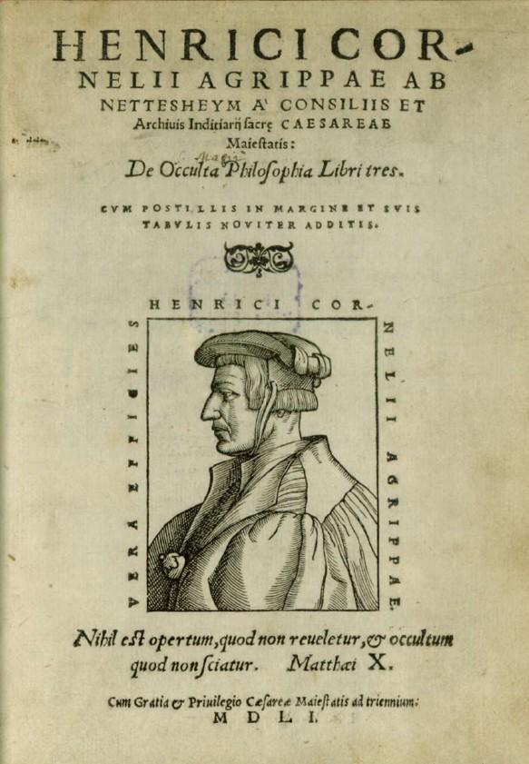 Explication des sigils des carrés magiques chez Agrippa 0211