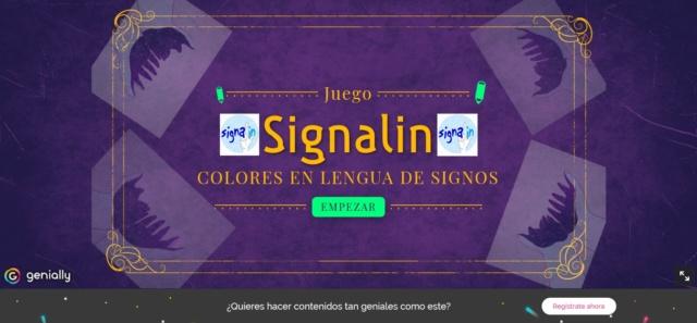 Juegos online de Signalin: LOS COLORES Colore10