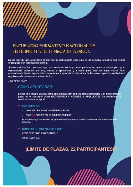 """ESHIE organiza: """"Motivación, Innovación y Supervivencia en la Profesión"""" - 29, 30 nov. y 1 dic. -Vitoria Gasteiz Inscri10"""