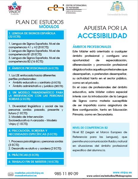 Máster en Lengua de Signos Española: aplicación en ámbitos profesionales - Univ. de Oviedo Master10
