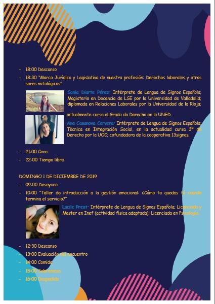"""ESHIE organiza: """"Motivación, Innovación y Supervivencia en la Profesión"""" - 29, 30 nov. y 1 dic. -Vitoria Gasteiz Progra11"""