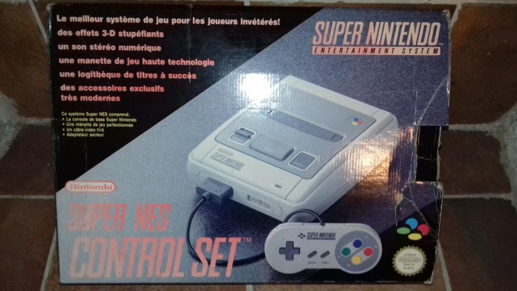 VDS - Console Super Nintendo Complète en Boite 20181043