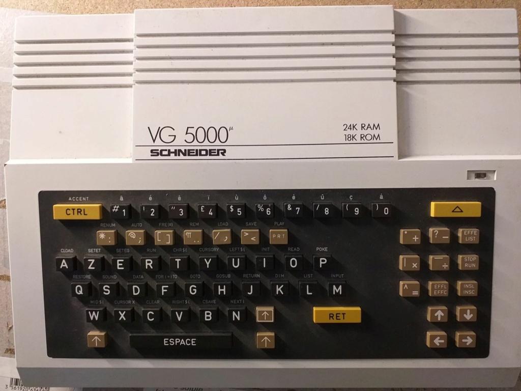 VDS - VG 5000 + Lecteur K7 + 2 Manettes + Jeux etc A5000c10