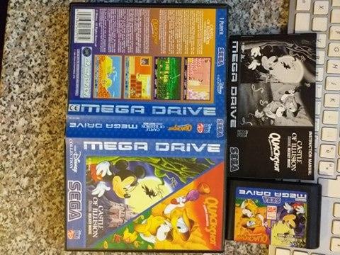 VDS/ECH - jeux MD + mags JV Aquack10