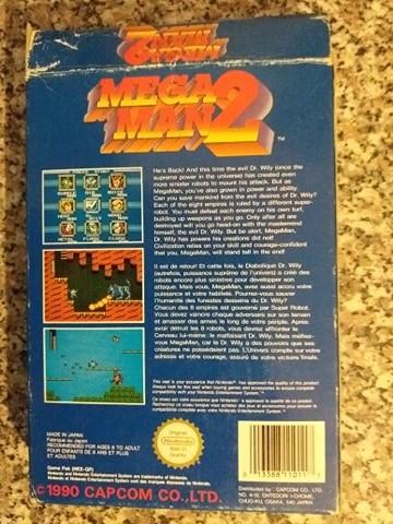 VDS/ECH - Megaman 2 complet NES PAL FR Mega10