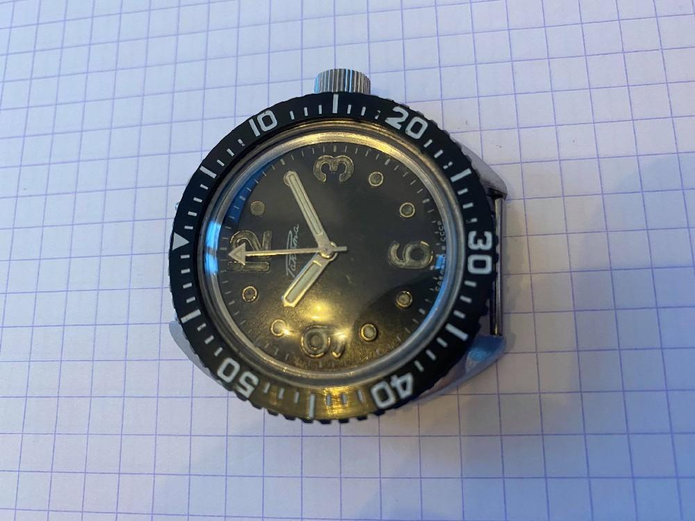 [WANTED - AVIS DE RECHERCHE] - Raketa amphibia vintage cal. 2609 HA Image312
