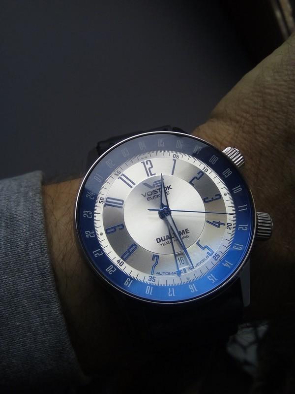 [Vendue] Vostok Europe Gaz Limousine GMT Bleue Img_2066