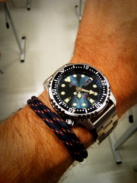 "[VENDU] lot plongeuses neuves -  Orient Triton diver ""mini pro-saturation"" – Citizen Promaster NY0040  Img_2074"
