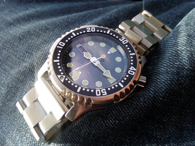 "[VENDU] lot plongeuses neuves -  Orient Triton diver ""mini pro-saturation"" – Citizen Promaster NY0040  Img_2075"