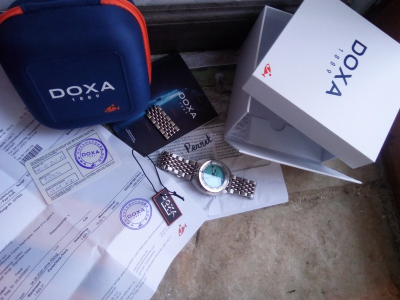 [CLOSE] - Doxa sub300t Aquamarine - 2020 garantie  Img_2472