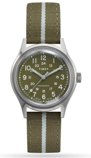 Nouveauté Timex mechanical 36mm : une field watch abordable Mk1_me10