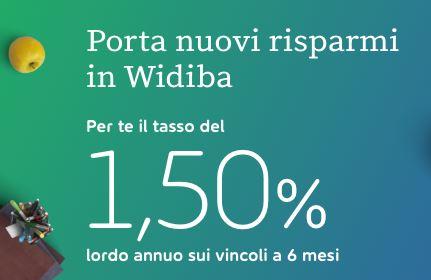 WIDIBA promo vincoli 1,50% a 6 mesi [promozione scaduta il 31/08/2020] Cattur10