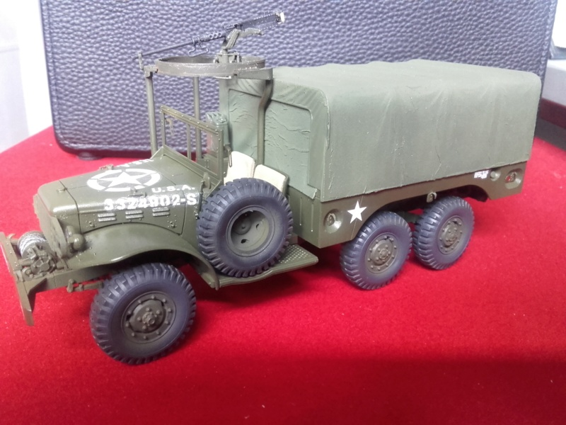 Dodge WC63 MG 1/35 AFV club - Page 2 20180713
