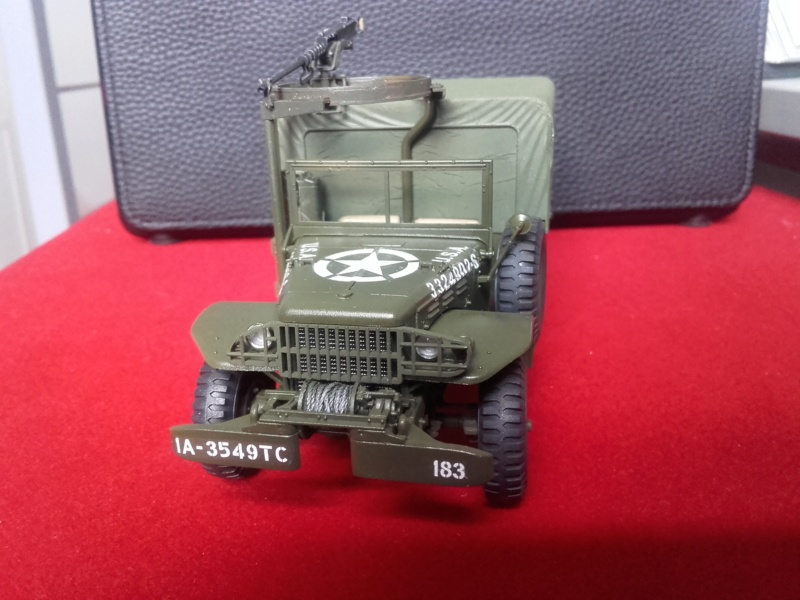 Dodge WC63 MG 1/35 AFV club - Page 2 20180715