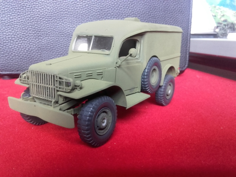 Dodge WC63 MG 1/35 AFV club - Page 2 20180718