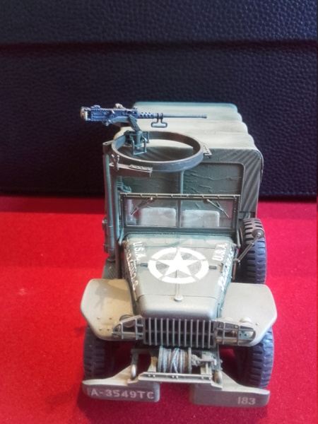 Dodge WC63 MG 1/35 AFV club - Page 2 20180810