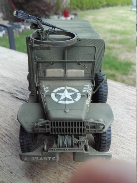 Dodge WC63 MG 1/35 AFV club - Page 2 20180815