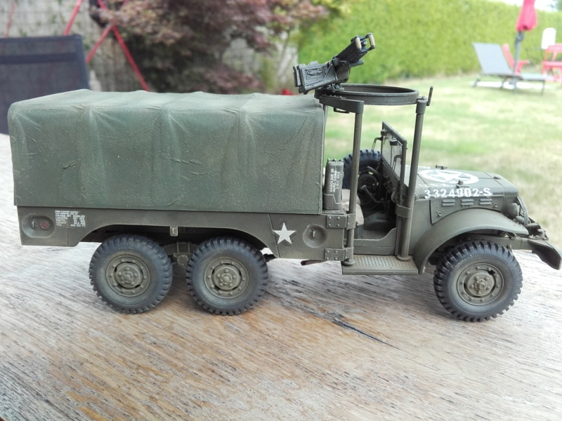 Dodge WC63 MG 1/35 AFV club - Page 2 20180817