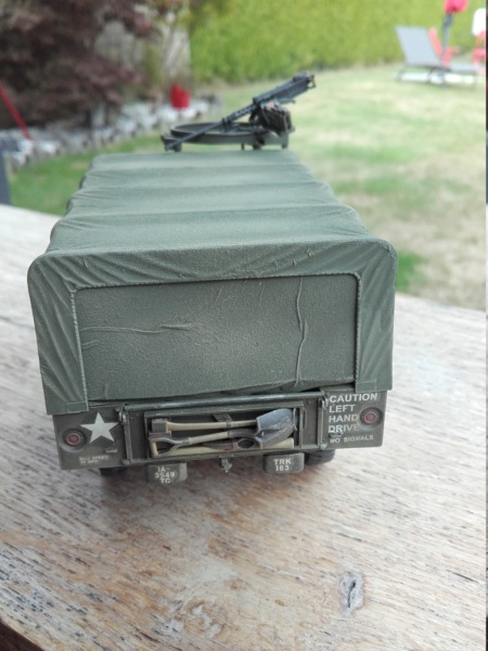Dodge WC63 MG 1/35 AFV club - Page 2 20180818