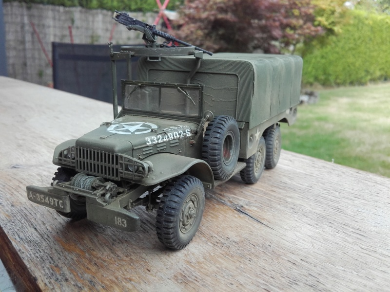 Dodge WC63 MG 1/35 AFV club - Page 2 20180819